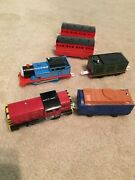 Thomas The Train Trackmaster Bridge Expansion Pack Extra Track And Misc Cars