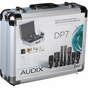 Audix Dp7 - Professional 7-piece Drum Microphone Kit For Recording And Live Sound