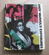 Signed - Exposures By Andy Warhol - 1st 1979 Hcdj - Pop-art - Photography
