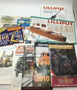 Train Magazine And Catalog Lot Of 48 Mtm Williams Lionel Lilliput Free Shipping