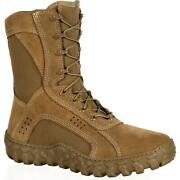 New Rocky S2v Hot Weather Military Boots Rkc050 Coyote Brown Ocp Nwu Type Iii