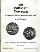 The Battle Of Cowpens A Documented Narrative And Troop Maps Revolutionary War