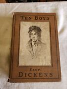 Antique Books 10 Boys From Dickensby Kate Dickinson Sweetser1901free Ship