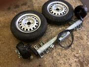 1100kg Trailer Kit - Axle 13 Wheels And Tyres Plus A Pair Of Cables