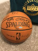 Boston Celtics 2008 Championship Authenticated Autographed Basketball With Case