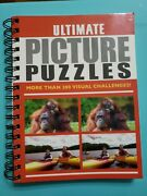 Over 200 Ultimate Picture Puzzles Brain Games Spot Difference Visual Challenges