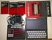 Vintage Rare Timex Sinclair 1000 Personal Computer With 16k Ram Module+software