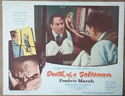 Death Of A Salesman, Fredric March, Set Of 8, Lc147