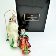 Rare 1997 Christopher Radko Moscow Circus And039ivan And Mishaand039 Bear Ornaments