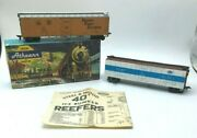 Athearn 1627 Fruit Mechanical Reefer And Ny Mx Mechanical Refrigerator Nyc