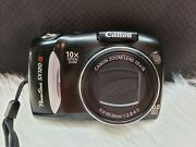 Canon Powershot Sx120 Is 10mp Digital Camera With 10x Optical Zoom