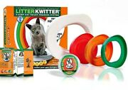 Litter Kwitter 3 Step Cat Training System Teach Kitty To Use Toilet With Dvd