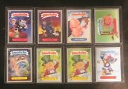 Garbage Pail Kids Brand New Series 2 Silver Parallel Hobby Only Lot Of 8 Nm