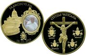 Pope Francis Commemorative Coin Proof Lucky Money Value 139.95