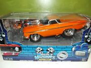 Muscle Machines Build It 118 And 164 Orange '59 Chevy El Camino 71195