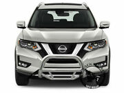 Black Horse Fits 2014-2020 Nissan Rogue Stainless Max Bull Bar
