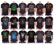 Avenged Sevenfold T Shirt The Stage Band Logo A7x Death Bat Nightmare Official