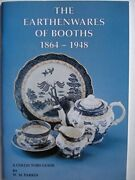 Earthenwares Of Booths 1864-1948 - A Collectors Gu... By Parkin W.m. Paperback