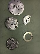 Jaeger Lecoultre Part For Master Moon Calibre 891/447 Used Main Plate+ 888/1 Goo
