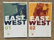 Lot Of 2 East Of West Image Comic Books 1 And 2 Copies 1st Prints Hickman