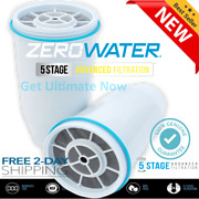 New Zero Water Replacement Water Filter Cartridges 1/2/3/4/5 Pack