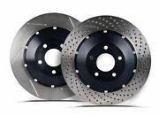 Stoptech Drilled Aerobrake Rotor Set Front 365x34mm 81.113.9941