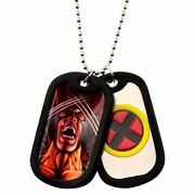 Marvel X-men Wolverine Dog Tags With Chain Necklace