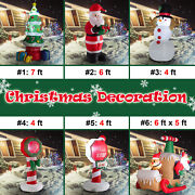 Inflatable Christmas Decorations Led Lighted Outdoor Holiday Shopping Mall Yard