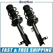 Front Pair Left And Right Complete Strut Assemblies For 2011-2012 Chevrolet Cruze