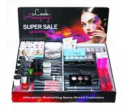 New Makeup Display Rack Holder And 100+ Mixed Cosmetics Sell Your Customers Retail