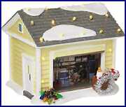 Department 56 4056686 Snow Village Christmas Vacation The Griswold Holiday Garag