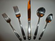 Danish Princess Holmes And Edwards Sterling Inlaid Silver Flatware Set With Chest