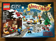 New Factory Sealed Lego City Advent Calendar 60024 - Retired Set From 2013