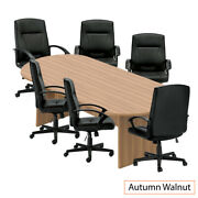 Gof 8ft Conference Table And 6 Chair Set G11782b Chair Only Available