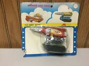 Vintage 1970's Yot Toys Die-cast No.5 Thunder Bird Series On Card Look