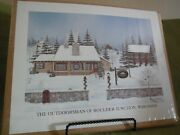D. Stewart Limited Edition Print Of The Outdoorsman, Boulder Junction, Wi