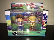 High Dream Hl Pro Grendizer Vynil Collection 6 Danbei And Goro Figures Mib 2016
