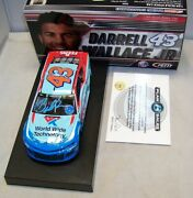 124 Action 2018 43 Worldwide Technology Darrell Bubba Wallace Jr Autographed
