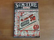 Old S And M Tire Company Catalog 1935 Automobile Supply Mirror Horn Tool Bike Part