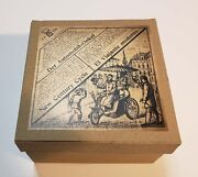 Lehmann New Century Cycle Empty Box For German Tin Wind Up Toy