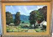 South African Panorama By Donald James Madge Don Madge 36 1/8 X 24 1/8