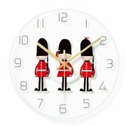 Glass Crystal Wall Clock Quartz Home Watches London Patterned Living Room Decors