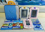 Vtech Lot Innotab 2 And 3 3 Tablets/case/9 Games 2 New Learning