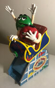 Mandm's Red And Green Candy Dispenser Wild Things Roller Coaster Car Collectible