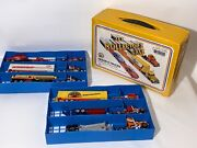 Vintage 1982 Zee Toys Inc 6 Truck Collectors Case Included Trucks And Trailers