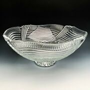 Waterford And039spirit Of Americaand039 Centerpiece Bowl 13 Made In Ireland