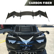 Fits Chevrolet Camaro Coupe 16-19 Rear Lid Spoier Racing Trunk Wing Carbon Fiber