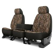 For Ram 4500 14-18 Dash Designs Camo 1st Row Migration Ll Custom Seat Covers