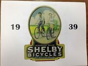 1939 Shelby Bicycle Co Dealer Catalog High Resolution Reprint