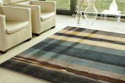 Exclusive Hand Knotted 5and0397x7and03910 Gabbeh Woollen Area Parsian Rugs And Carpets